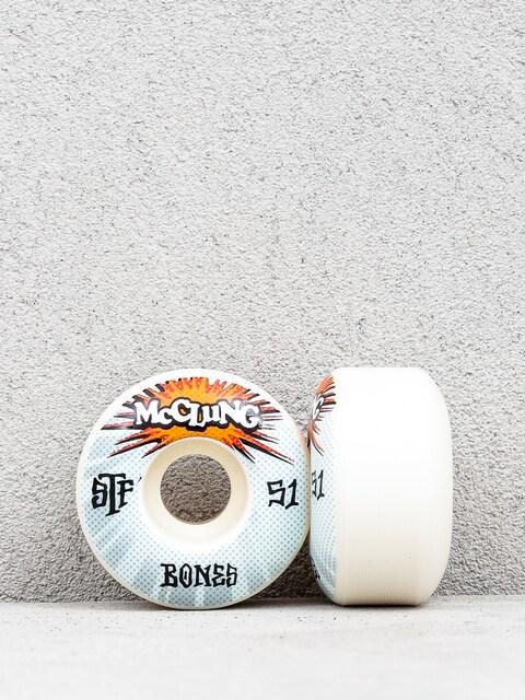 Kolečka Bones Mc Clung Blast Formula V1 (white)