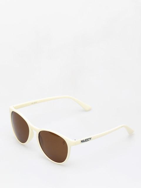 Sluneční brýle Majesty Rush (beige/polarised brown lens)