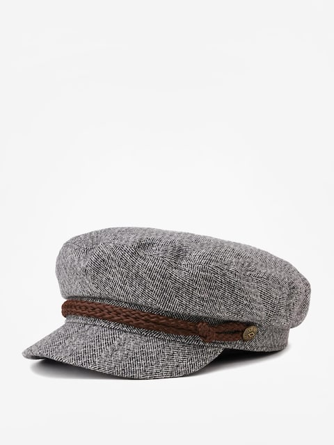 Klobouk s kšiltem Brixton Fiddler Cap (heather grey/cream)