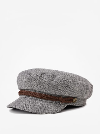 Klobouk s ku0161iltem Brixton Fiddler Cap (heather grey/cream)