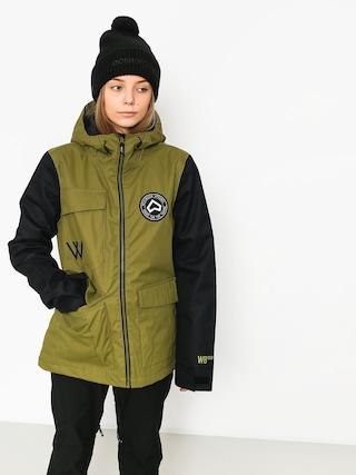 Snowboardová bunda Westbeach Flux Wmn (combat green)
