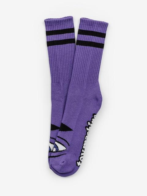Ponožky Toy Machine Sect Eye (purple)