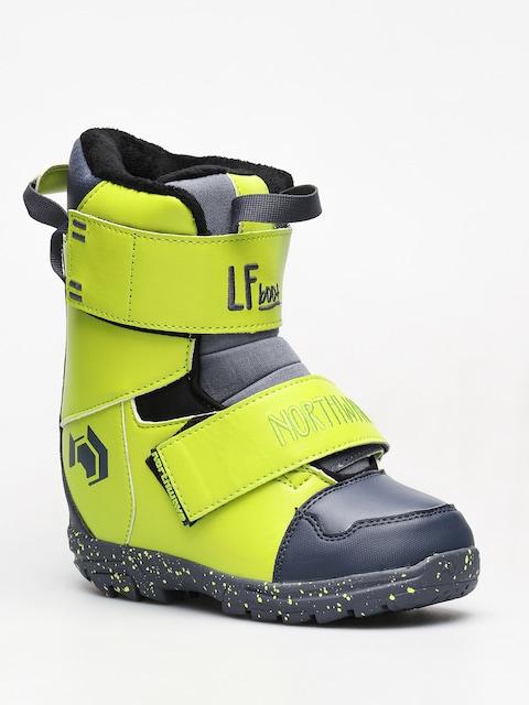 Northwave Dětské Snowboardové Boty  Lf Kid (lime)
