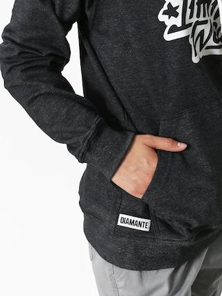 Mikina s kapucí Diamante Wear Dlw Fluo HD Wmn (grey)