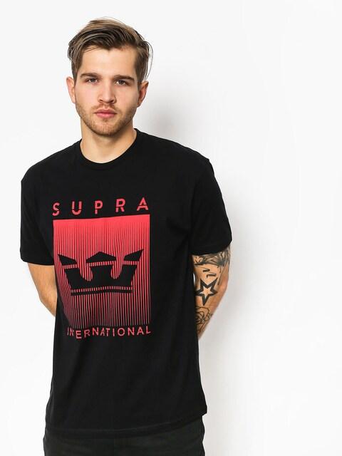 Tričko Supra Crwnfde (black)