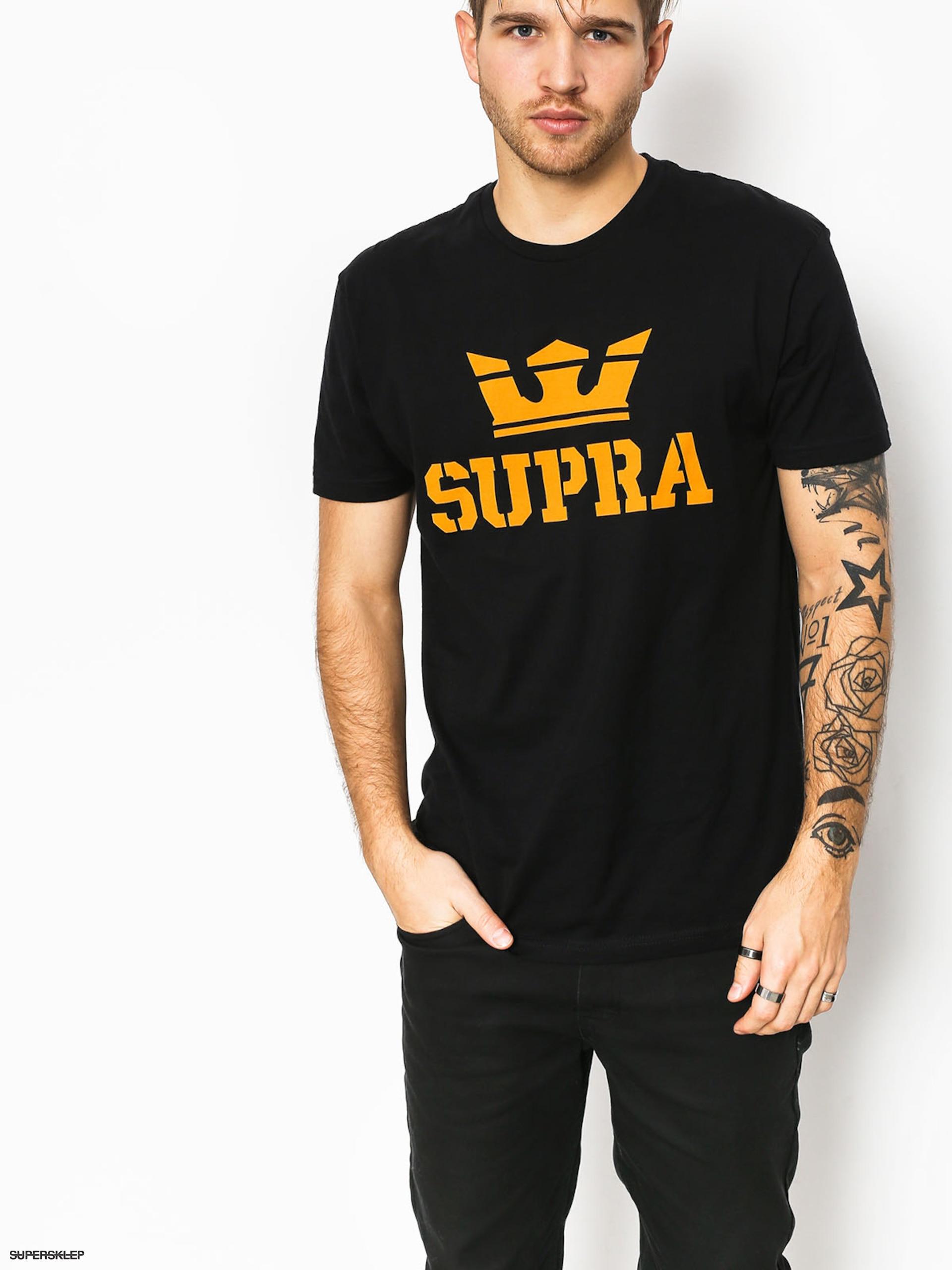 884f40349c713 Tričko Supra Above Reg (black)