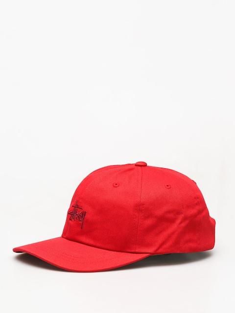 Kšiltovka  Stussy Ho18 Stock Low Pro ZD (red)
