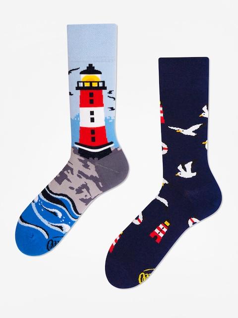 Ponožky Many Mornings Nordic Lighthouse (navy/light blue)