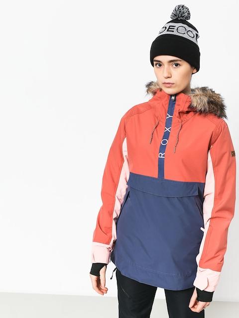 Snowboardová bunda Roxy Shelter Wmn (dusty cedar)