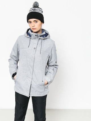 Snowboardovu00e1 bunda Roxy Billie Wmn (warm heather grey)