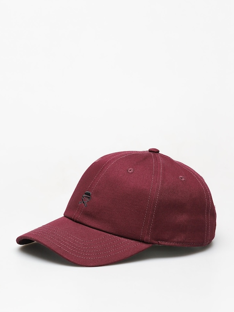 Kšiltovka  Cayler & Sons Small Icon ZD (maroon/black)
