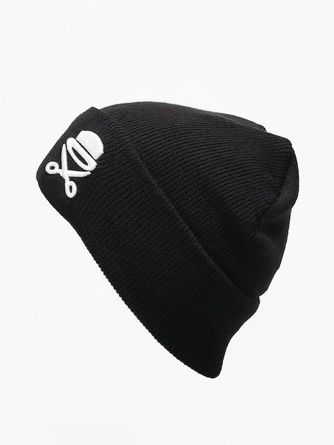 Čepice Cayler & Sons Old School Beanie (black/white)