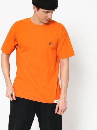 Tričko Diamond Supply Co. Mini Unpolo (orange)