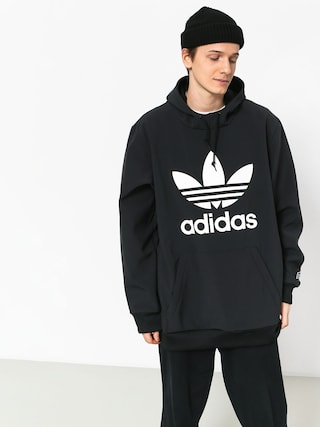 Mikina s kapucí adidas Team Tech HD (black/white)