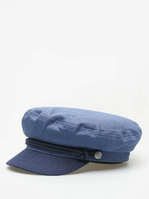 Klobouk s kšiltem Brixton Fiddler ZD Wmn (blue/dark navy)