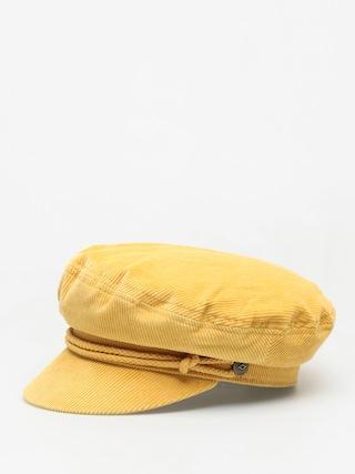 Klobouk s ku0161iltem Brixton Ashland ZD Wmn (mustard/mustard)