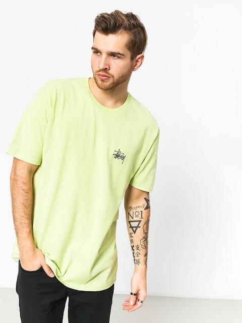 Tričko Stussy Basic (pale green)