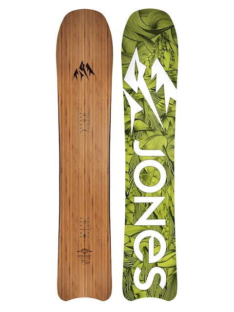 Snowboard Jones Snowboards Hovercraft (green/white)