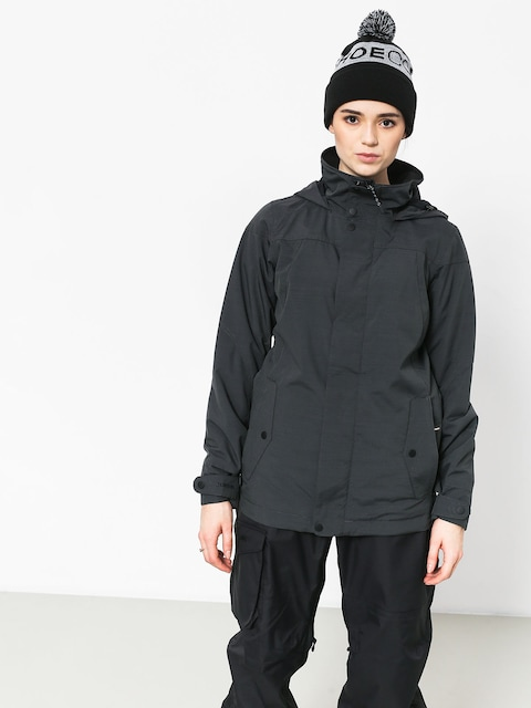 Snowboardová bunda Burton Jet Set Wmn (true black heather)