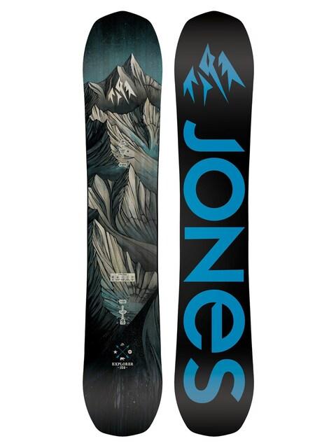 Snowboard Jones Snowboards Explorer (black/blue)