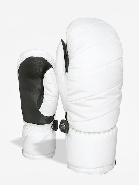 Rukavice Level Bliss Cozy Down Mitt Wmn (white)