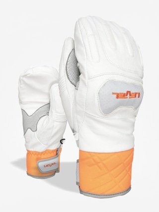 Rukavice Level Race Mitt (white)