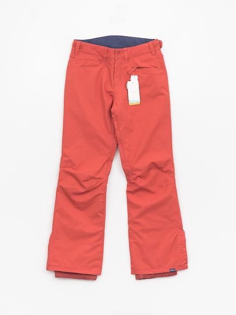 Snowboardové kalhoty Roxy Backyard Wmn (dusty cedar)