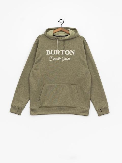 Mikina s kapucí Burton Oak HD (clover heather)