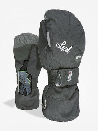 Level Rukavice Half Pipe W Mitt Gore Wmn (blk)