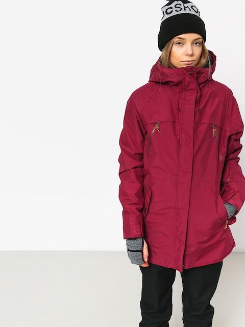 Snowboardová bunda Roxy Tribe Wmn (beet red)