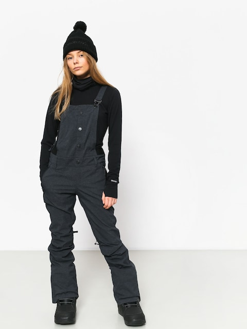 Spodní prádlo Burton Mdwt Long Neck Wmn (true black)