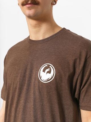 Tričko Dragon Icon (brown heather)