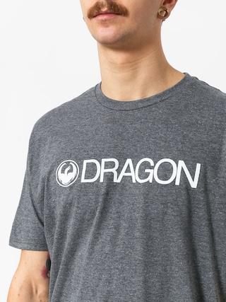 Tričko Dragon Trademark (charcoal heather)