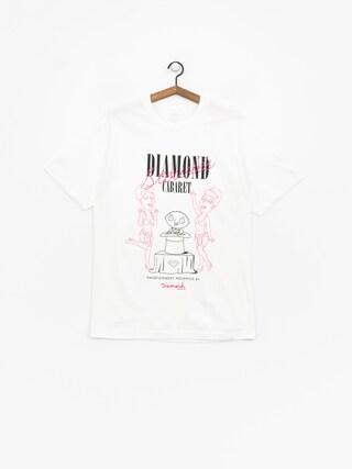 Tričko Diamond Supply Co. Stewie'S Diamond Cabaret (white)