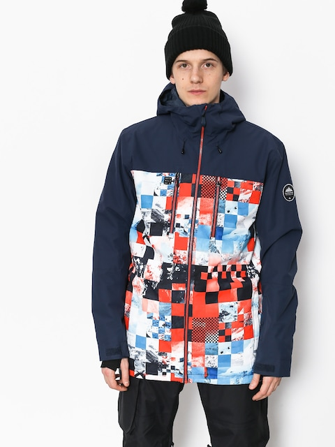 Snowboardová bunda Quiksilver Mission Blck (money time flame)