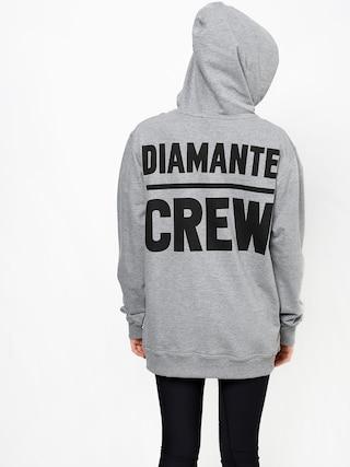 Mikina s kapucí Diamante Wear Diamante Crew (grey melange)