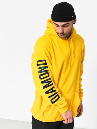 Mikina s kapucu00ed Diamond Supply Co. Polar HD (yellow)