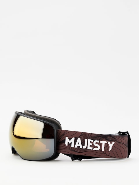 Brýle na snowboard Majesty The Force S (black/ancient gold)
