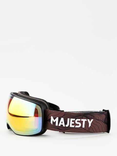 Brýle na snowboard Majesty The Force S (black/photochromatic)