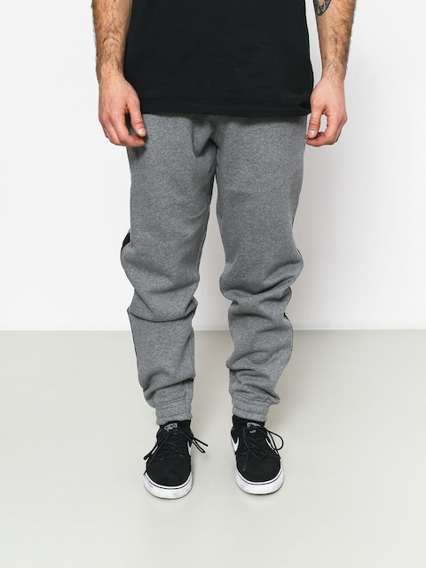 Kalhoty Supra Streeter Pant (grey heather/blk)