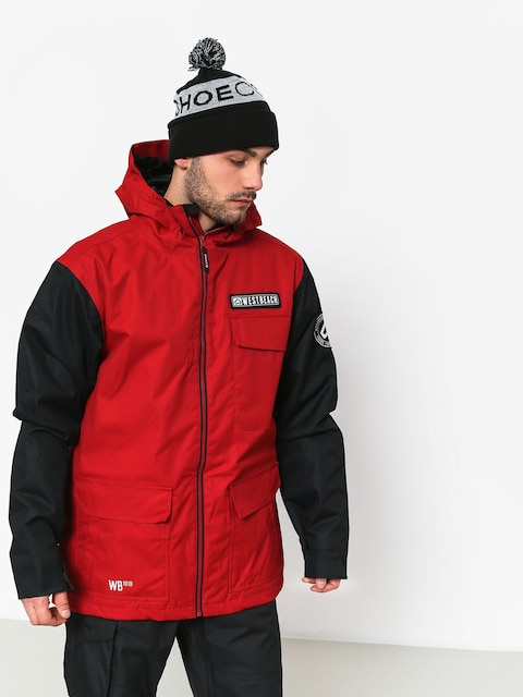 Snowboardová bunda Westbeach Bantam (chilli red)