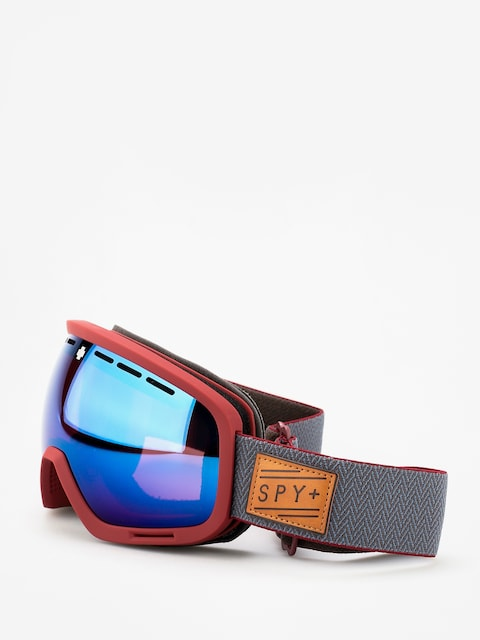 Brýle na snowboard Spy Marshall (herringbone red happy rose w/dark blue spectra happy light gray green w/lucid red)