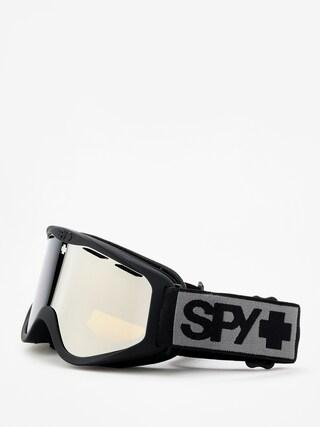 Bru00fdle na snowboard Spy Cadet (matte black bronze w/silver spectra)