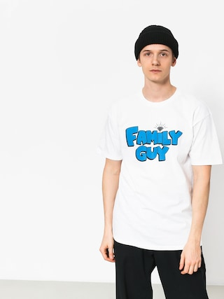 Tričko Diamond Supply Co. Family Guy (white)