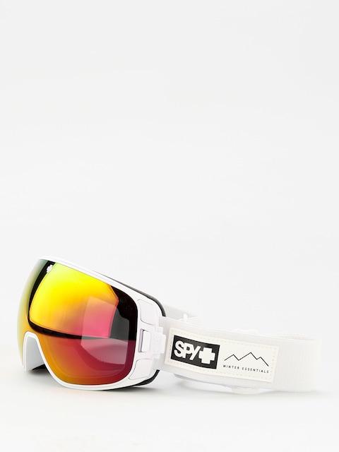 Brýle na snowboard Spy Bravo (essential white happy gray green w/red spectra happy yellow w/lucid green)