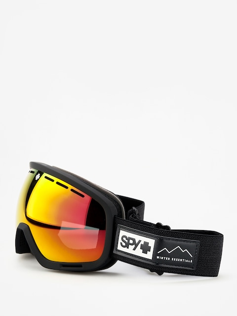 Brýle na snowboard Spy Marshall (essential black happy gray green w/red spectra happy yellow w/lucid green)