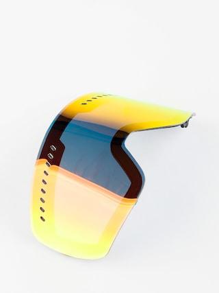 Sklo na snowboardové brýle Dragon NFXs (lumalens red ion)