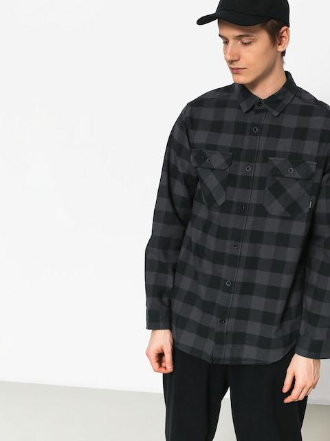 Košile Burton Brighton Flnl (true black htr buff)