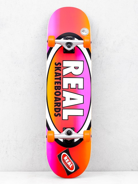 Skateboard Real Fades (orange/pink)