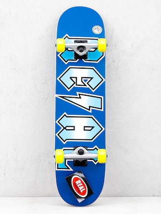 Skateboard Real Deeds Metallics (blue)